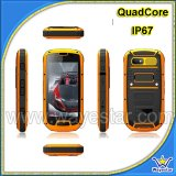 Ares 3G rugged mobile phone touch screen with wifi gps PTT NFC bluetooth Compass